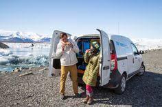 kuku camper traveling to iceland camper van in iceland living