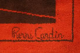 Checkerboard Area Rug Stunning Pierre Cardin Area Rug For Sale At 1stdibs