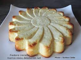 cuisine cor馥nne recettes recette de fiadone recette corse par mamie nisou