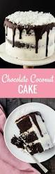 chocolate coconut cake recipe baked by an introvert