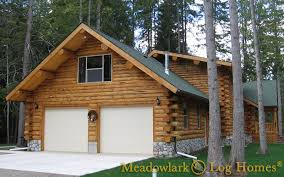 16x24 log cabin meadowlark log homes garages and barns meadowlark log homes