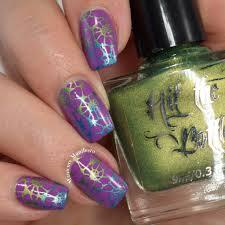 manicure manifesto seashell gradient stamped nail art
