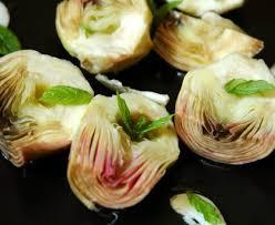 cuisiner coeur d artichaut carciofini sott olio coeurs d artichauts en conserve recette de