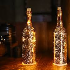starry string lights vino depot acelife wine bottle light led starry string lights kit
