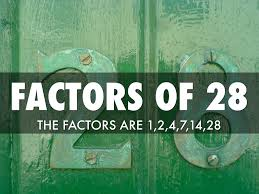 Factors Of 481 28 By Dominic Schierlinger