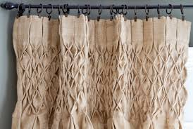 decorating burlap curtains for enchanting home decoration ideas