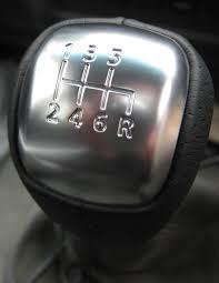 leather gear knob for nissan navara d40 6 speed manual pickup
