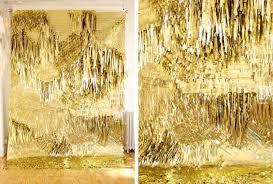 new years back drop black white yellow new year s decor gold fringe backdrop