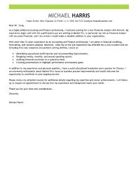 Sample Cover Letters For Internship Cover Letter For Internship Finance