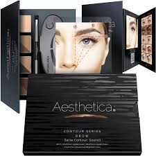 aesthetica cosmetics contour and highlighting powder foundation
