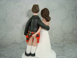 wedding cake toppers and groom scottish wedding cake toppers tbrb info