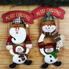 2016 dolls snowman santa snowman decorations