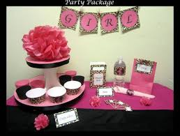 cheetah print party supplies leopard baby shower party supplies free shipping pink leopard
