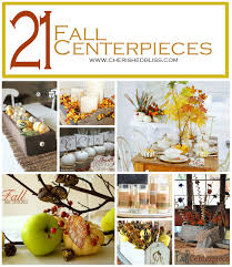 Fall Centerpieces 21 Fall Centerpiece Ideas Cherished Bliss