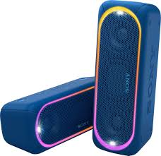 Best Looking Speakers Sony Xb30 Portable Bluetooth Speaker Blue Srsxb30 Blue Best Buy