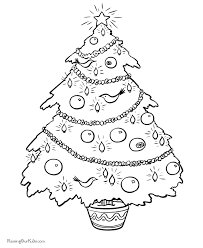 tree coloring pages 002