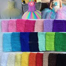 crochet headband tutu 0 24m halter top baby girl elastic chest wrap infant waffle