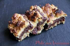 cuisiner flocon d avoine recette de carrés croustillants aux flocons d avoine chocolat