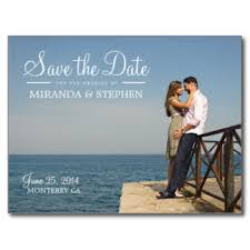 save the dates wedding sweet coastal custom wedding save the date picture photo