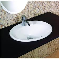 oval drop in sink drop in bathroom sinks oval oval vitreous china drop in lavatory
