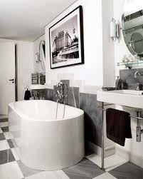 1930s Bathroom Design Bathroom Black And White Art Airmaxtn