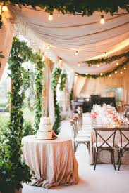 outdoor tent wedding 15 gorgeous ways to decorate your wedding tent brit co