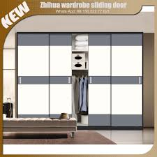 Furniture Design Bedroom Wardrobe Zhihua Modern Design Aluminium Sliding Wardrobe Doors For Bedroom