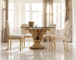 Luxury Dining Room Furniture Glass Top Dining Room Tables Diningroomstyle With Glass Top Dining