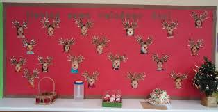 christmas bulletin board pre k is having some reindeer fun how