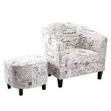 barrel chair with ottoman alcott hill abbottsmoor barrel chair and ottoman reviews wayfair