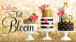 gold sequins wedding cakes cake geek magazine