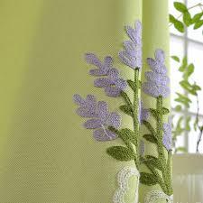 Lavender Window Curtains Shop Lavender Pastoral Embroidered Blackou Curtains Window