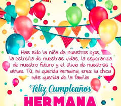 imagenes hermana querida feliz cumpleaños tarjetas de cumpleaños especiales para una hermana muy querida