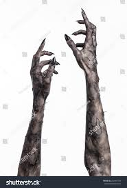 Halloween Monster Hands Black Hand Death Walking Dead Zombie Stock Photo 226402798
