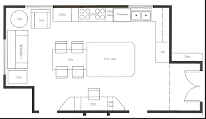 kitchen island layout awesome collection of galley kitchen cabinet layout large square