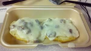 random dude eats random food mcdonald u0027s biscuit and gravy
