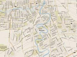 winnipeg map winnipeg map south manitoba listings canada