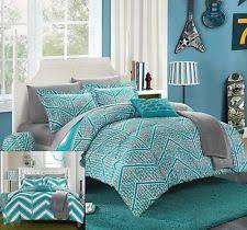 Turquoise Chevron Bedding Chevron Bedding Ebay