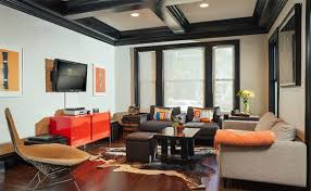 coffer ceilings coffered ceilings in 15 contemporary living rooms home design lover