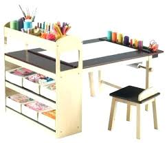 playroom table with storage desk with attached chair impressive ideas kids kids craft
