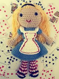 amigurumi pattern pdf free free alice in wonderland crochet doll pattern amigurumi alice and pdf