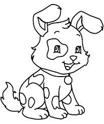 fun tricky dog coloring pages coloring