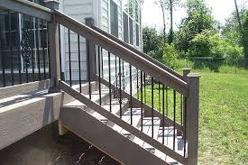 stairs stunning step railings outdoor stair railing kits steel
