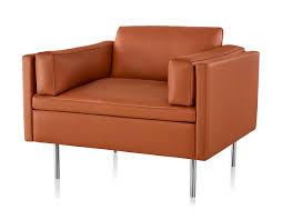 Red Club Chair Bolster Club Chair Hivemodern Com