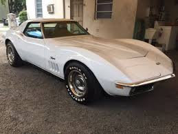 1969 corvette stingray t top for sale 1969 chevy corvette stingray convertible 4 speed both tops