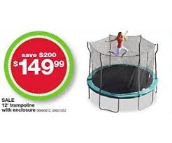 trampolines on sale for black friday 12 inch trampoline with enclosure deal at kmart black friday is