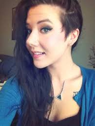 haircuts for woemen shaved one side long the other women side shave hair 2015 google search tattoos pinterest