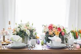 Easter Brunch Table Decorations by Easter Table Decorations Crate And Barrel Blog