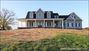 custom farmhouse plans choosing a home plan that fits your lot on your lot home builders