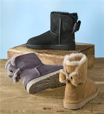 ugg womens bow boots ugg s naveah boot with bow boots